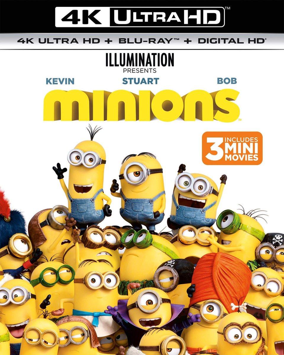 Minions (4K Ultra HD Blu-ray)-