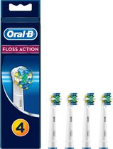 Oral-B Floss Action - Opzetborstels - 4 stuks - Wit