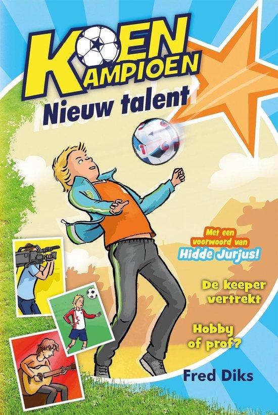 Boek cover Koen Kampioen - Nieuw talent van Fred Diks (Hardcover)