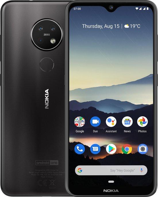 Nokia 7.2 - 64GB - Grijs