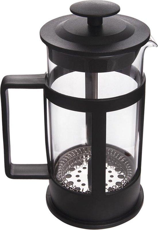 Biggcoffee FY04 French Press -RVS en kunstof-Borosilicaatglas-350 ml