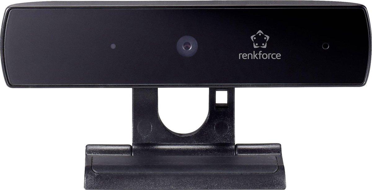Renkforce RF-WC1080P Full HD-webcam 1920 x 1080 Pixel Klemhouder