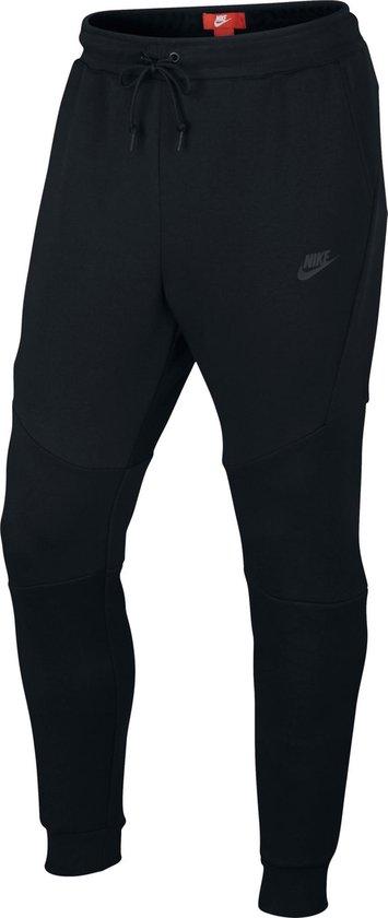 Nike Men'S Sportswear Tech Fleece Jogger Heren Sportbroek - Black/Black/Black - Maat M