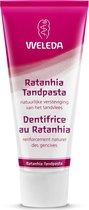 Weleda Ratanhia Tandpasta - 75 ml - Biologisch