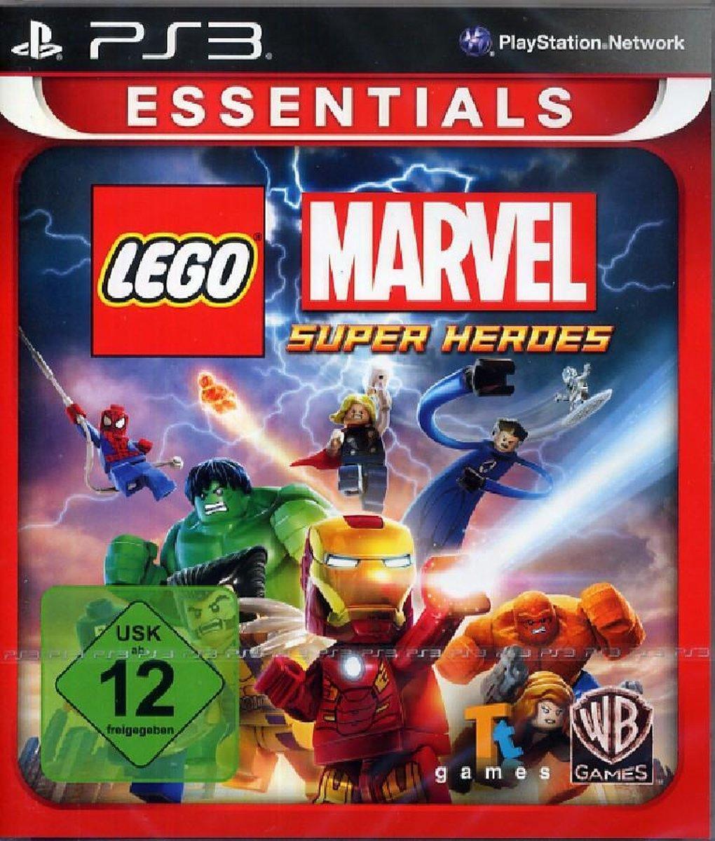 LEGO Marvel Super Heroes PS3 - Warner Bros. Games