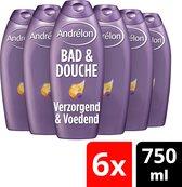 Andrélon 2in1 Bad & Douchegel - 6 x 750 ml  - Voordeelverpakking