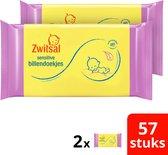Zwitsal Sensitive Billendoekjes - 114 billendoekjes - Voordeelverpakking