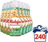 Robijn Kokos Sensation Wasverzachter - 8 x 30 wasbeurten - Voordeelverpakking