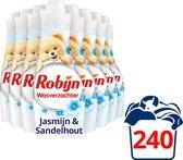 Robijn Jasmijn & Sandelhout Wasverzachter - 8 x 30 wasbeurten- Voordeelverpakking
