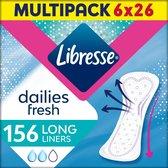 Libresse Long inlegkruisjes - 156 stuks