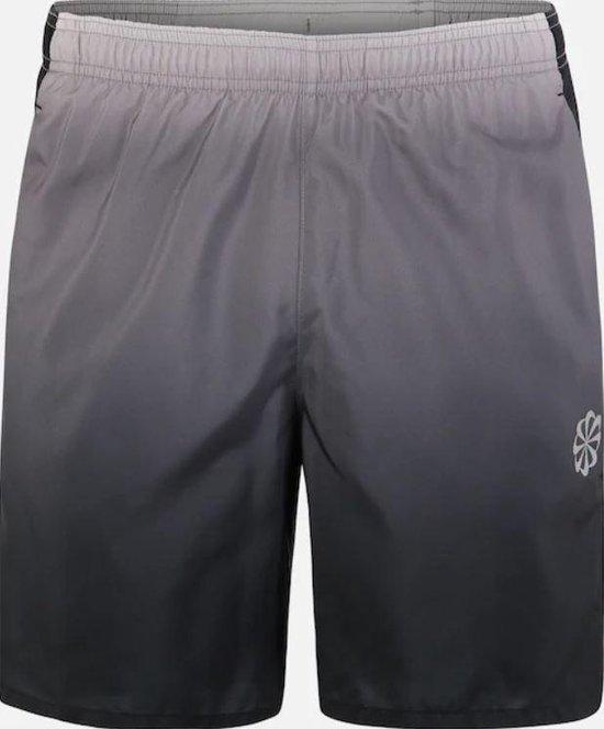 Nike Challenger Short 7In Pr Sportbroek Heren - Gunsmoke/Black/(Reflective Silv) - Maat XXL