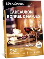 Wonderbox Cadeaubon - Borrel & Hapjes