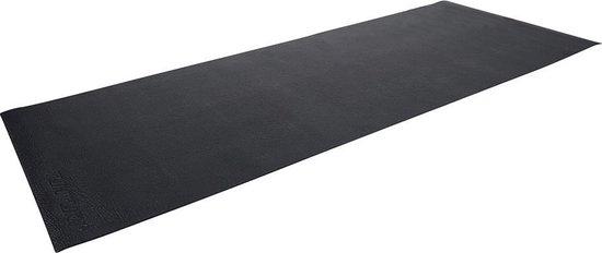 Tunturi Roeitrainer mat - Vloerbeschermmat - 227 x 90 x 0,4 cm - Zwart