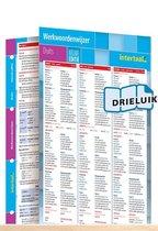 Werkwoordenwijzer Duits - nieuwe editie uitklapkaart