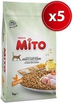 Mito Economic - Kattenvoer - 5 x 1 kg