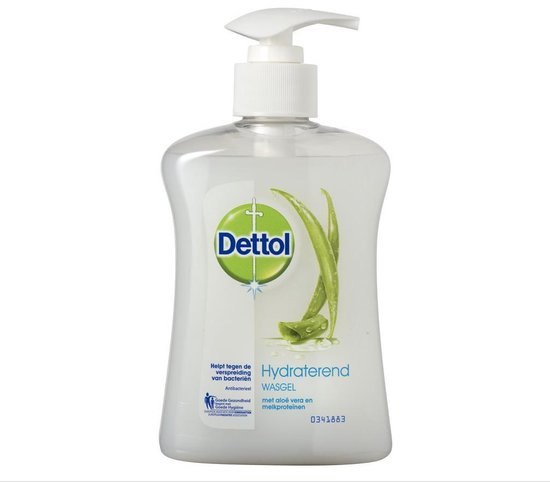 Dettol® - Soft on Skin - Aloë Vera - Antibacterieel - Hydraterende vloeibare handzeep - wasgel - dermatologisch getest - optimale verzorging