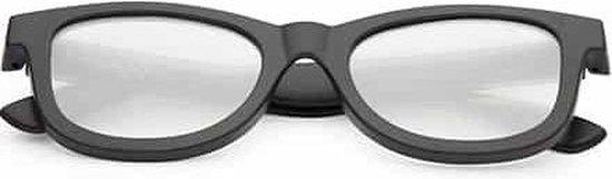 ®   Original spacebril hartjes effect   zwart