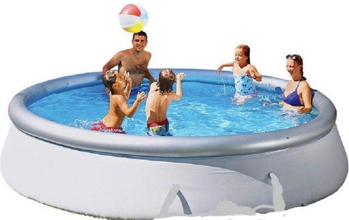 Bestway Zwembad Fast Set opblaasbaar rond 305x76 cm