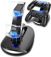 PS4 Controller Oplader, PS4 Games Dock Charger Stand Holder for PS4, PS4 Slim, PS4 Pro Controller