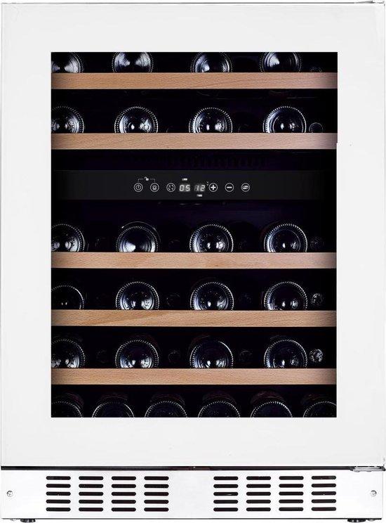 Koelkast: Temptech - OBIU60DW - inbouw wijnkoelkast - 46 flessen - wit, van het merk Temptech