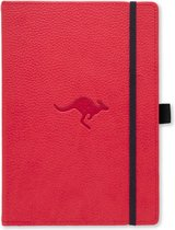 Dingbats A5+ Wildlife Red Kangaroo Notebook - Dotted