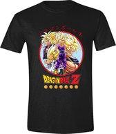 Dragon Ball Z - Group Heren T-Shirt - Zwart - M
