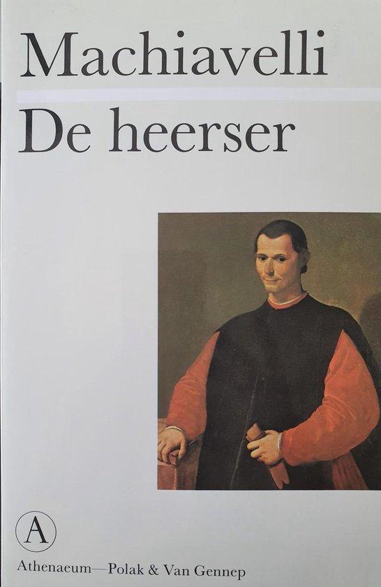 Boek cover De heerser van Niccolò Machiavelli (Paperback)