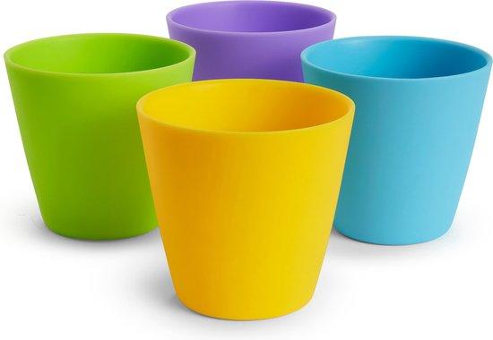 Munchkin Kinder Drinkbekers - Meerdere Kleuren - 4 Stuks