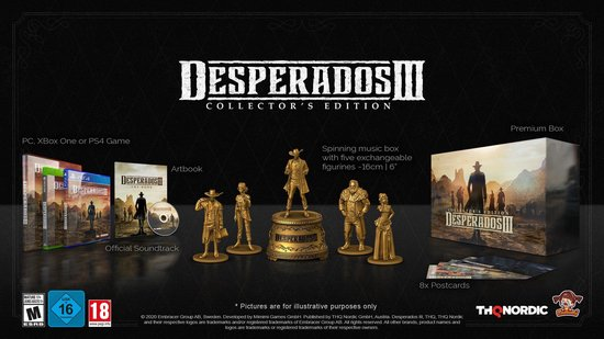 Desperados 3 - Collectors Edition - PS4