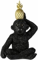 Decoratief Beeld Monkey Pine Apple – H26
