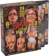 Erotic Planet Oma ist die Beste! Volwassen en Rijpe Hardcore GILF Actie – 3 DVD's