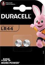 Duracell LR44 AG13 Knoopcel Batterij - 2 stuks