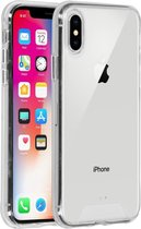 iPhone X hoesje - iPhone Xs hoesjes - iPhone X cases - hoesje iPhone X - iPhone Xs hoesje - iPhone X case - hoesje iPhone Xs - telefoonhoesje iPhone X - Siliconen hoesje - Transparant - Accezz Xtreme Impact Backcover