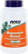 NOW Magnesium Malaat 115 mg - 180 Tabletten