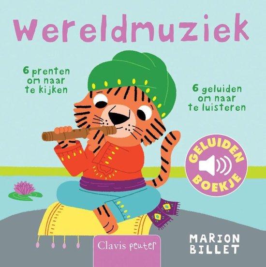Boek cover Wereldmuziek van Marion Billet