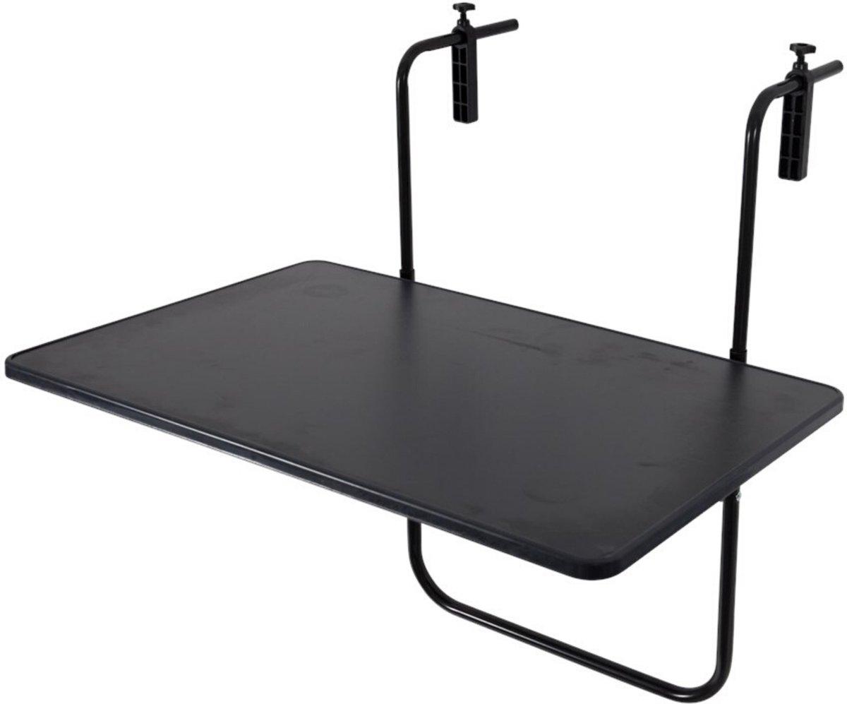 Balkontafel Grijs - 60x40cm - Inklapbaar