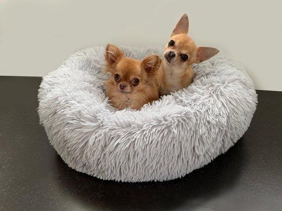 Hondenmand / Kattenmand - 60 cm - Donutmand - Lichtgrijs