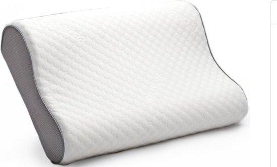 Bedsure Traagschuim Hoofdkussen - Orthopedisch - Ergonomisch - 50x30x10 cm