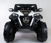 Elektrische kinderauto Mercedes Buggy 4×4 12V Full options Wit