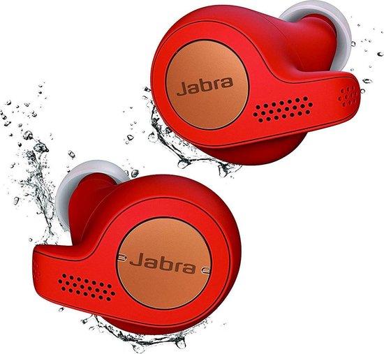 Jabra Elite Active 65t - Volledig draadloze sport oordopjes - Rood