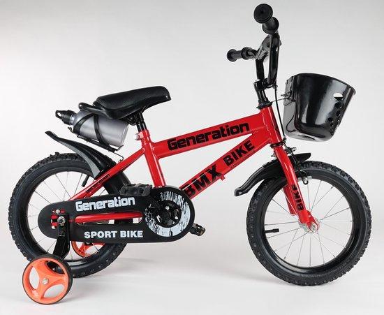 """Generation BMX fiets 14"""" Rood"""