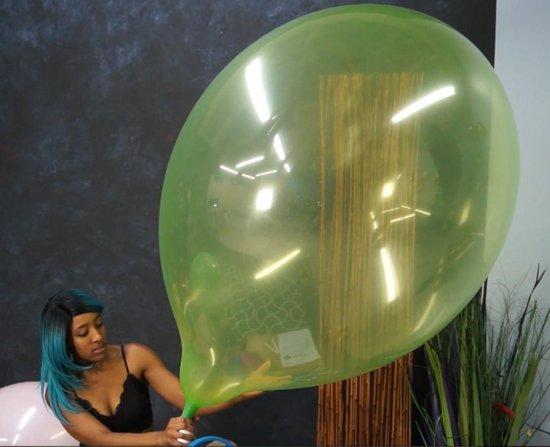 2 Cattex lange nek reuze ballonnen 36 inch - 90 cm - grote ballonnen