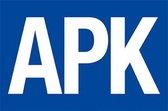 Vlag APK - 100 x 150 cm - Glanspolyester