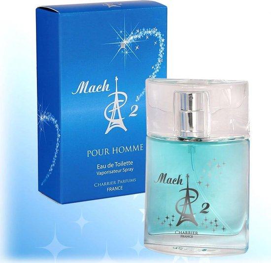 EEN ECHT CADEAU VOOR DE MAN, De Mach 2 for men, een heerlijke kruidige populaire heren geur.  (produced in Grasse van Paul Charrier)
