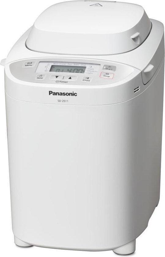 Panasonic SD-2511WXE - Broodbakmachine - Wit