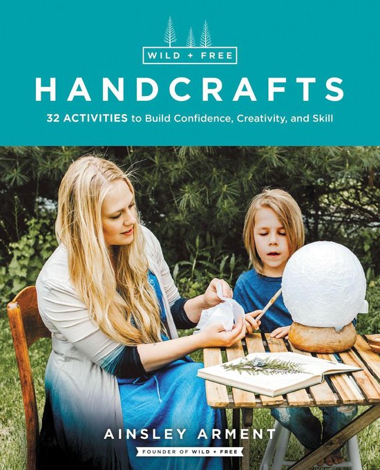 Boek cover Wild and Free Handcrafts AFF van Ainsley Arment (Onbekend)
