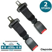 Dapoda® Gordelverlenger voor auto – Veiligheidsgordel Maxi Cosi – Universeel – 2PACK
