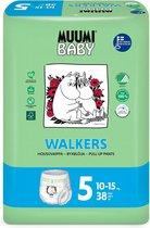 Eco Muumi Baby luierbroekjes maat 5 - 10-15 kg - 40 stuks - ecologisch