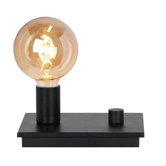 Tafellamp Control Zwart Chique