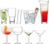 LSA International Mixologist Cocktail Mix-Set van 12 Stuks